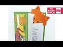 Закладка для книги или учебника «Лисёнок» 🦊 / DIY / BACK TO SCHOOL / ПОДЕЛКА
