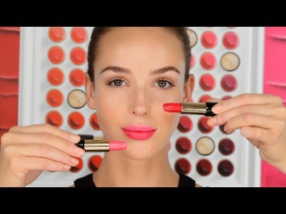 [How to] Two Toned Lip with a French twist by Lisa Eldridge with Lancôme LipArt