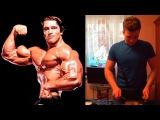 Рацион Арнольда Шварценеггера для наращивания мышечной массы в его лучшие годы....