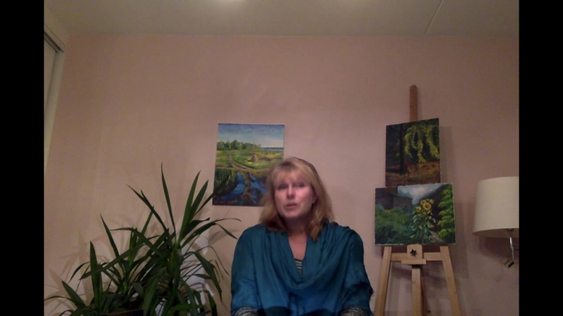 Отзыв Ирины Рууттунен о школе живописи Оксаны Сансон