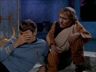 Смеющийся и плачущий (эмоциональный) Спок (Стар трек/ TOS Star Trek/ Звёздный путь) 3х10