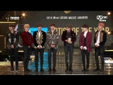 BTS - Artist Of The Year @ 2016 MAMA Mnet Asian Music Awards 161202