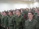 Выпуск сержантов запаса военной кафедры Финансового университета,22 июня 2017 года.