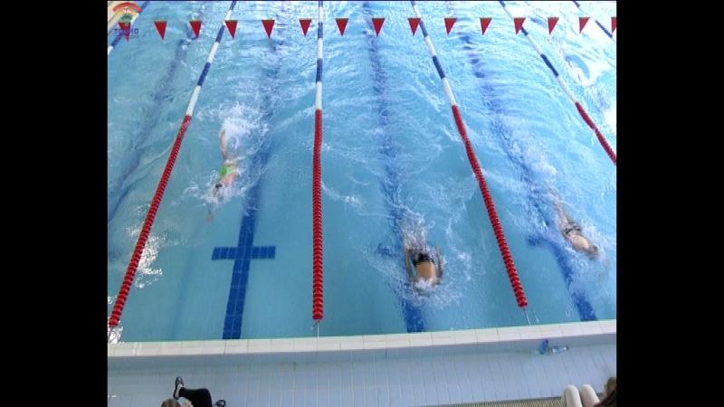 В бассейне Лазурный г.Тосно прошел международный турнир по плаванию Белые ночи