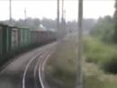 Крушение поезда 2707 на перегоне Ерал -Симская