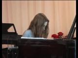 Ксения Демиданова - Пьеса для фортепиано