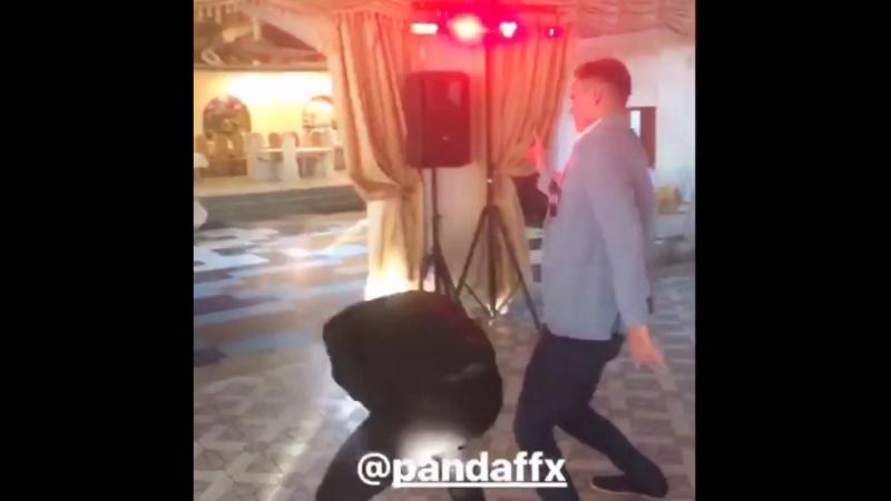 PandaFX на свадьбе у Германа.😆