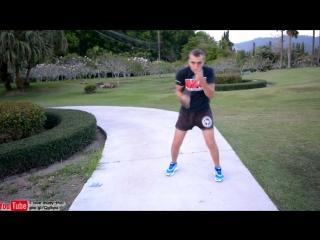 Тренировка удара дома, с гантельками №2 _ training punch at home