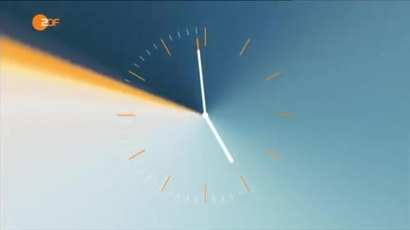 Часы и начало новостей (ZDF [Германия], 19.09.2010)