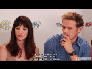 Outlander Cast React To Season 3 Premiere _ EW