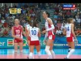 05.10.2014. Волейбол. Чемпионат мира. Женщины. Сербия - Россия