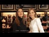 Жозефин в рекламном ролике «Victoria's Secret» — Открытие магазина в Макао