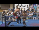 Atsushi Aoki vs. Kotaro Suzuki AJPW Royal Road Tournament 2017 - Day 2