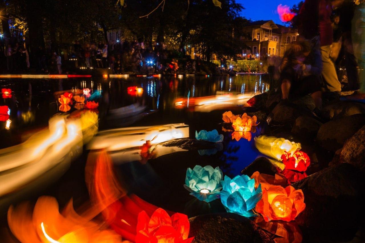 Фестиваль Водных фонариков 2017