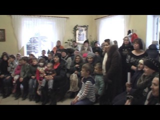 Рождество 2017 Храм Иоанна богослова г.Терновка часть 1