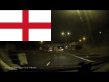 Driving in England -- M40, M25 and M11 smooth drive