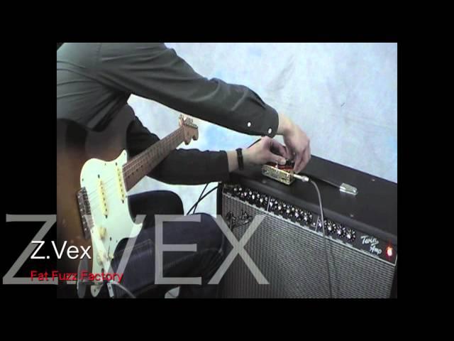 Self oscillation fuzz pedals Collection Part-2 : Z.Vex Fat Fuzz Factory