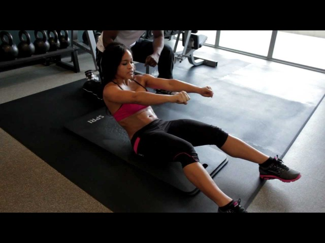 Workout With Rosa Acosta: Abs (Part 4)
