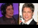 Howard Stern TV Benicio Del Toro & Artie Lange Bond During Interview
