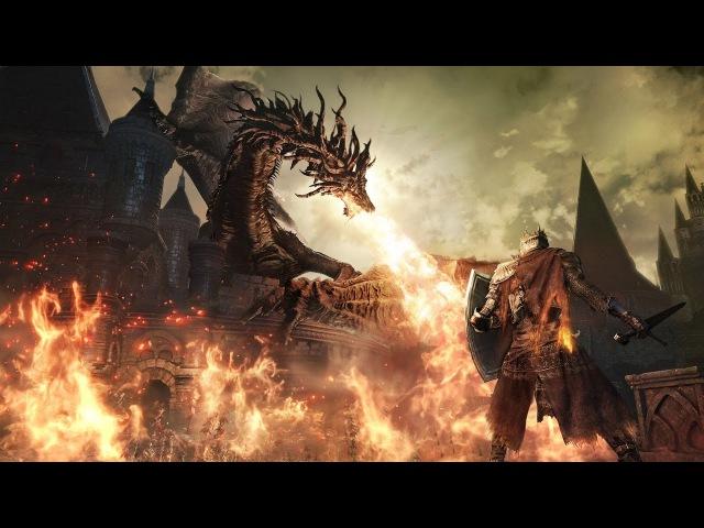 Прохождение Dark Souls 3 маг / mage - №21 Катакомбы Картуса Демон / Catacombs of Carthus Demon