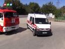 Крымские спасатели успешно ликвидировали последствия условного ДТП