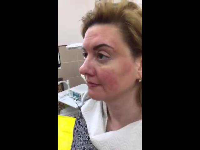 Татуаж век , стрелка с растушёвкой . Permanent makeup of eyelids - shading and liner