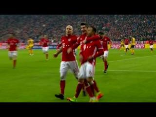 Bayern Munich vs Arsenal 5-1 Highlights (UCL) 2016-17 HD 720p (English Commentary)