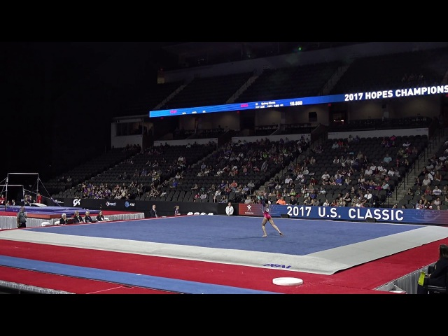 Ui Soma - Floor - 2017 Hopes Championships