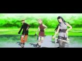 MMD The Last Naruto,Sakura,Hinata- Wave