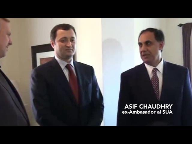 Vizita fostului premier Vlad Filat la deschiderea oficială a Casei Stela
