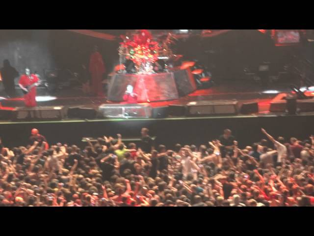 Slipknot - Spit It Out @ live in Moscow 29.06.11
