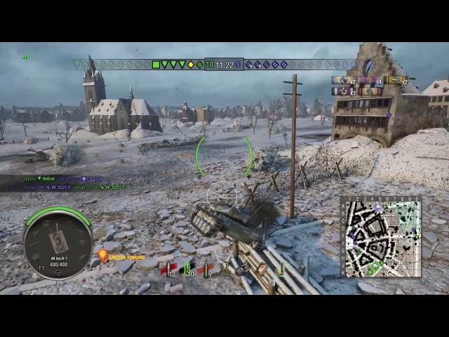 World of Tanks PS4 AMX ELC bis пытаемся тащить 2