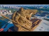 Эпическая 1320-тонная статуя бога войны в Китае