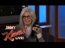 Jimmy Kimmels FULL INTERVIEW with Diane Keaton