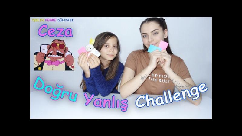 Doğru Yanlış Challenge Burun Yalama Cezalı IYY Eğlenceli Çocuk Videosu Funny Kids Videos