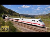 From 200 to 300kmh ICE 1, ICE T, ICE 3 and ICE 4 German fast trains - SFS Ingolstadt-N