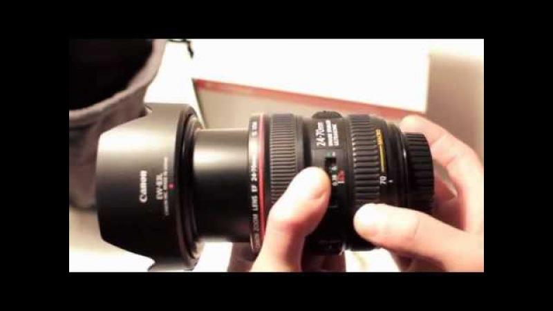Canon EF 24-70mm f4L IS USM Marumi DHG Super Lens Protect 77mm