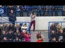 Зажигательный танец уборщицы в Хабаровске