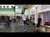 Тренировка тяжелая атлетика НГТУ