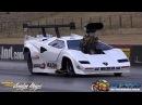 LAMBORGHINI COUNTACH DRAG CAR ASR RACING 7.02 @ 192 MPH