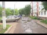 Плохие дороги на ул.Тукая