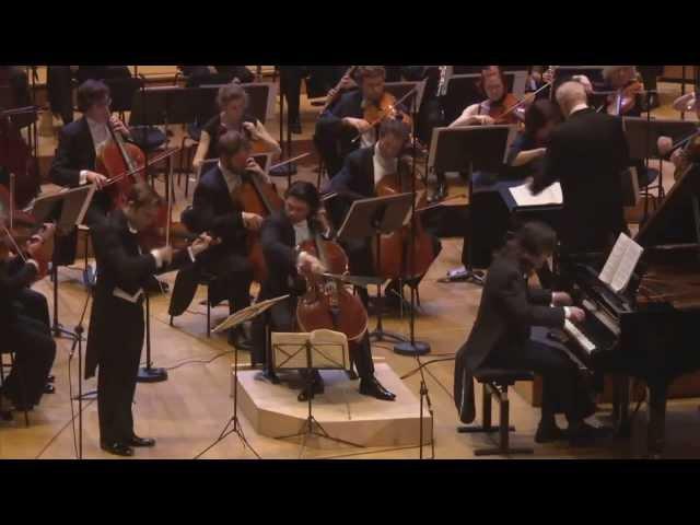 Beethoven - Triple Concerto - R. Capuçon, G. Capuçon, Frank Braley, B. Haitink (Full HD 1080p)