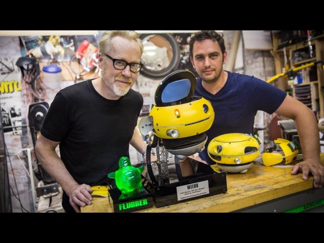 Adam Savage Meets a Weebo Animatronic Robot!