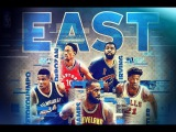 NBA 2017 East All-Star Starters Mix