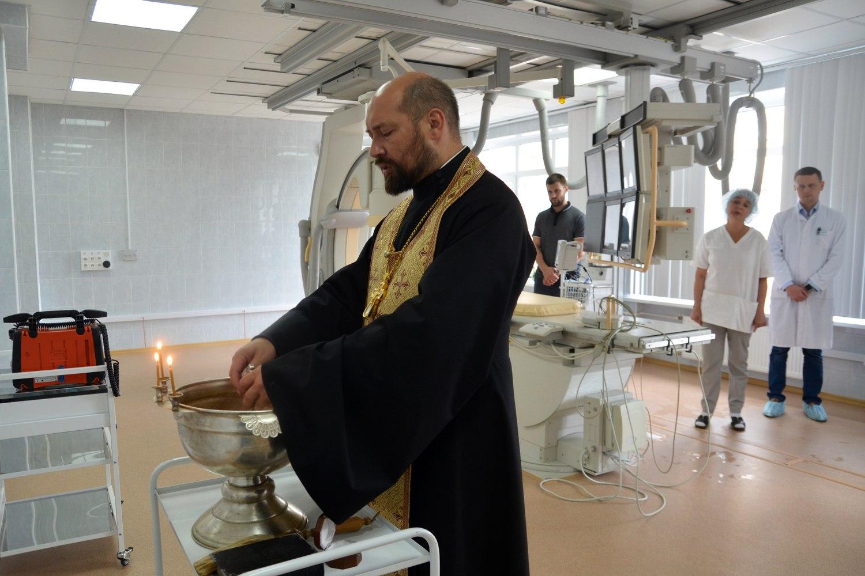Освящение нового отделения Пущинской больницы