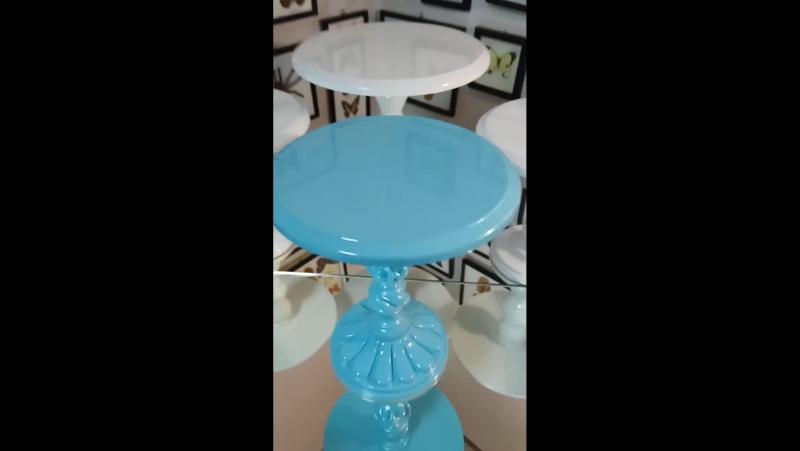 Тортница СофиШерон в Tiffany blue