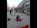 Питер, уличный музыкант