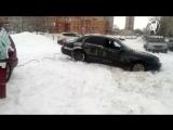 Вытащить из сугроба-Помощь на дороге-Авто Ангел Оренбург -2