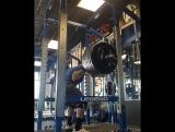 Джесси Норрис - присед 288 кг на 5 повторов