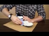 Как очистить обувь и вернуть белоснежный цвет зубной пастой